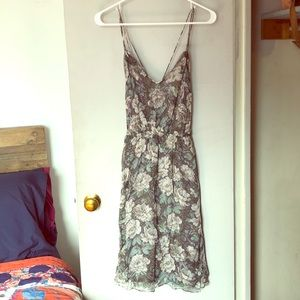 Reiss floral cocktail dress (never worn)